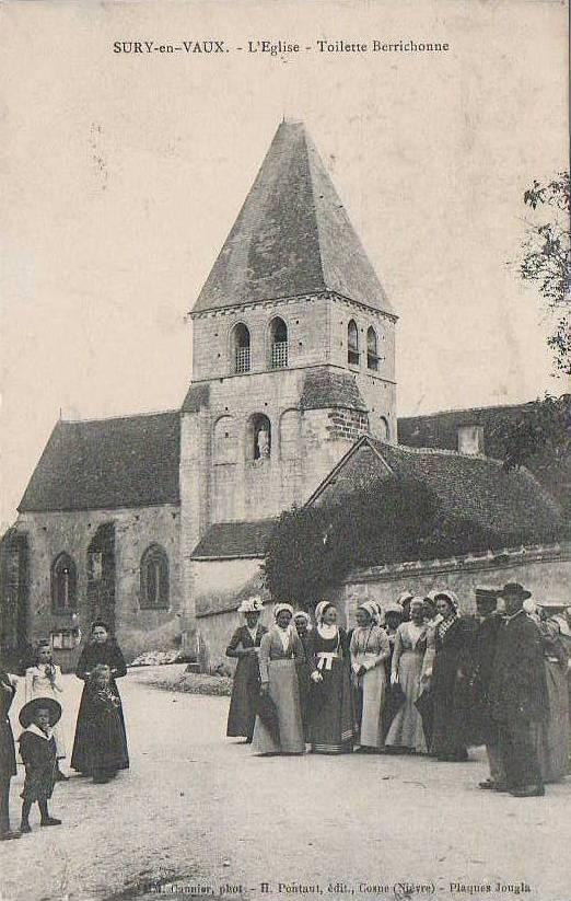 Sury en Vaux Eglise